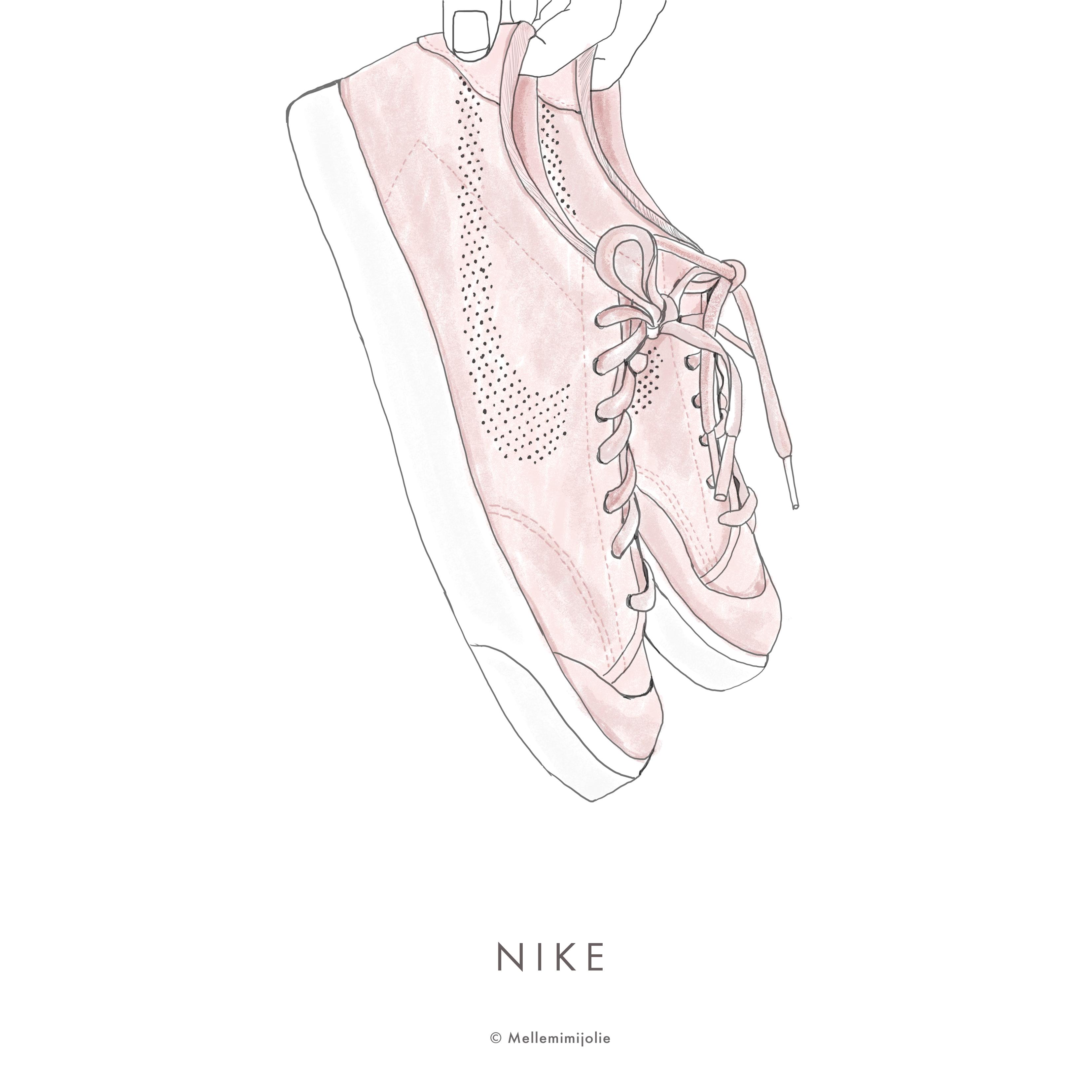 NIKE pink copy