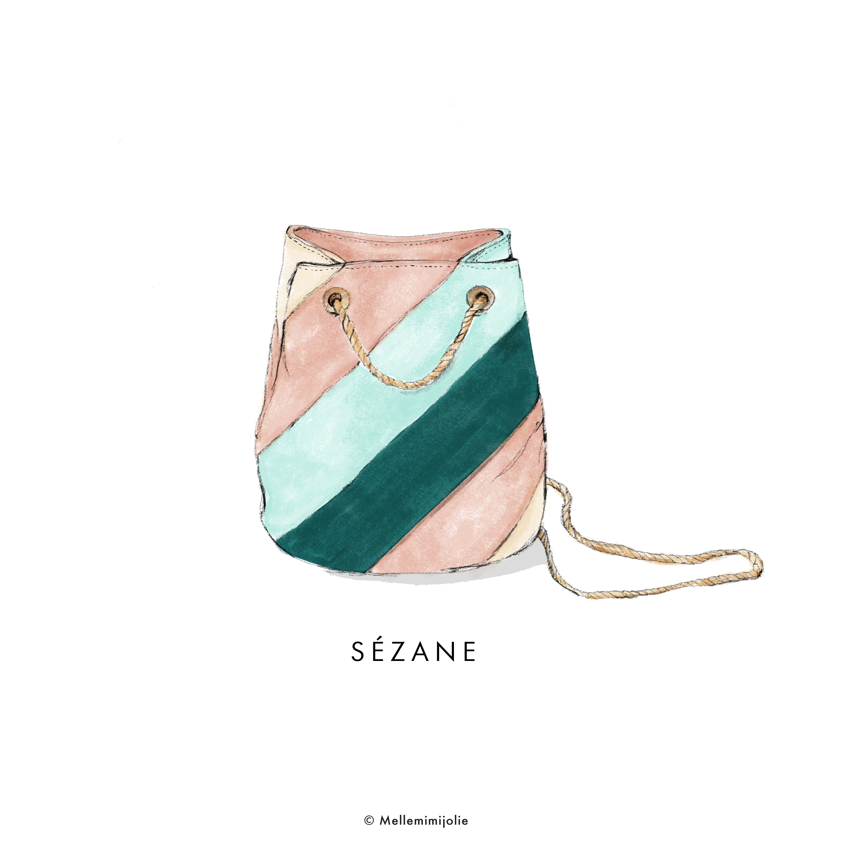SEZANE BAG