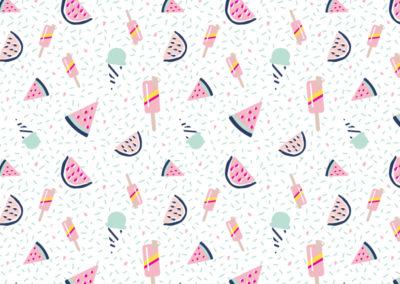 Patterns :TUTTI FRUTTI